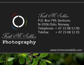 #200 for Design a Logo for a photographer by venki1988