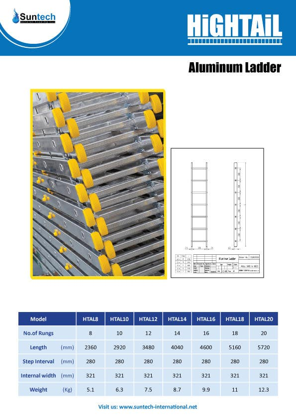 Proposition n°9 du concours Design a Two Page Brochure for HIGHTAIL Ladders & Casters