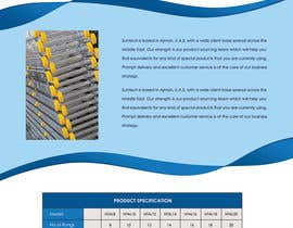 #16 cho Design a Two Page Brochure for HIGHTAIL Ladders & Casters bởi SheryVejdani