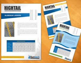 #17 para Design a Two Page Brochure for HIGHTAIL Ladders & Casters por SheryVejdani