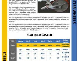 #19 para Design a Two Page Brochure for HIGHTAIL Ladders & Casters por babaprops