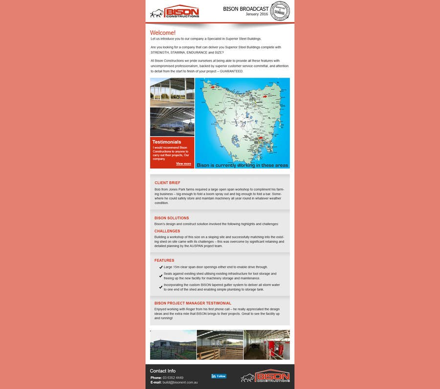 Entry 28 By Maniapp92 For Design An Html Email Newsletter Template