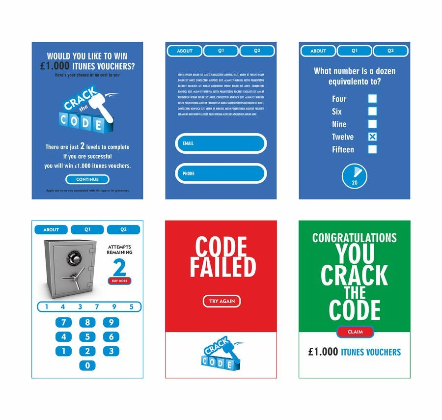 Penyertaan Peraduan #                                        31                                      untuk                                         Create this simple iOS app