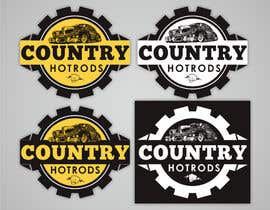 #9 para Design a Logo for Country Hotrods por amongraga