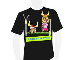 nº 16 pour Design a T-Shirt for LBplaying par raitisrolis