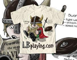 nº 11 pour Design a T-Shirt for LBplaying par DrenusArt
