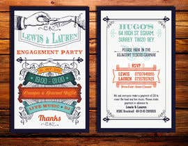 #26 cho DESIGN MY ENGAGEMENT PARTY INVITATIONS bởi kdneel