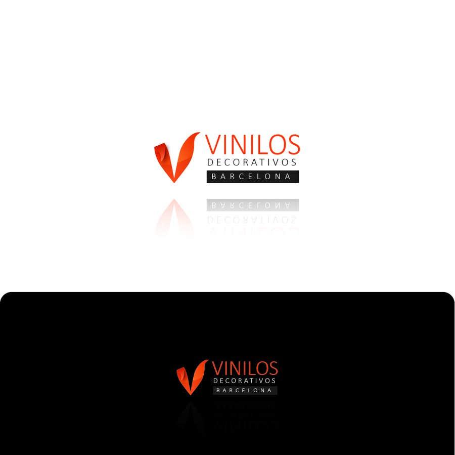 Inscrição nº 17 do Concurso para Design a Logo for a decorative vinyl web