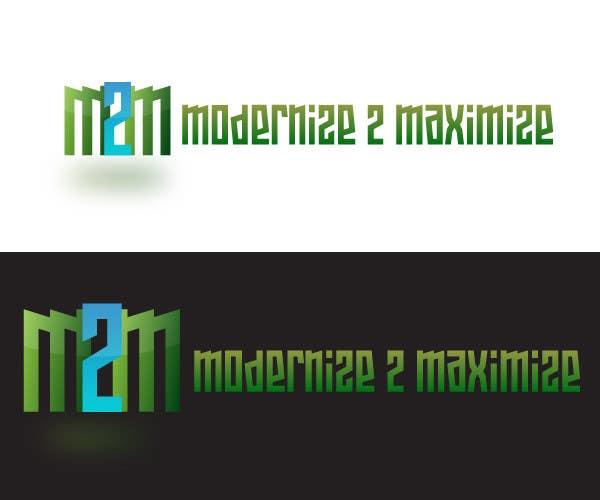 Konkurrenceindlæg #6 for Design a Logo for Modernize 2 Maximize
