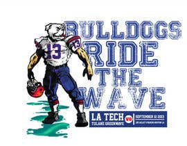 #15 para Louisiana Tech Football Gameday Tee shirts por alexispereyra