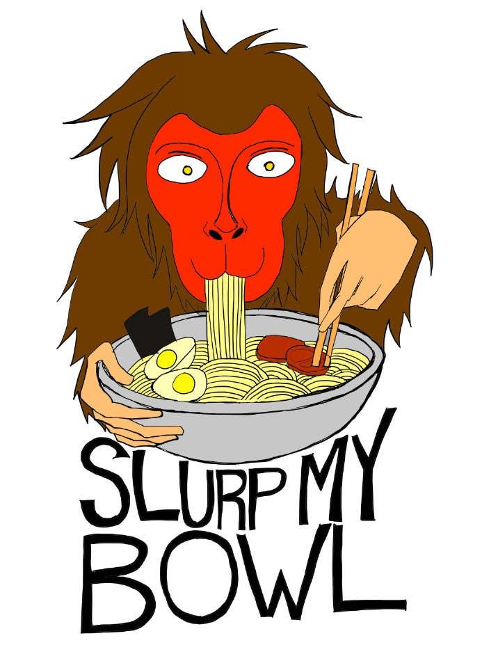 "Bài tham dự cuộc thi #78 cho Food Blog Logo ""Slurp My Bowl"""
