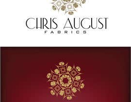 #203 untuk Logo Design for Chris August Fabrics oleh jaqueline