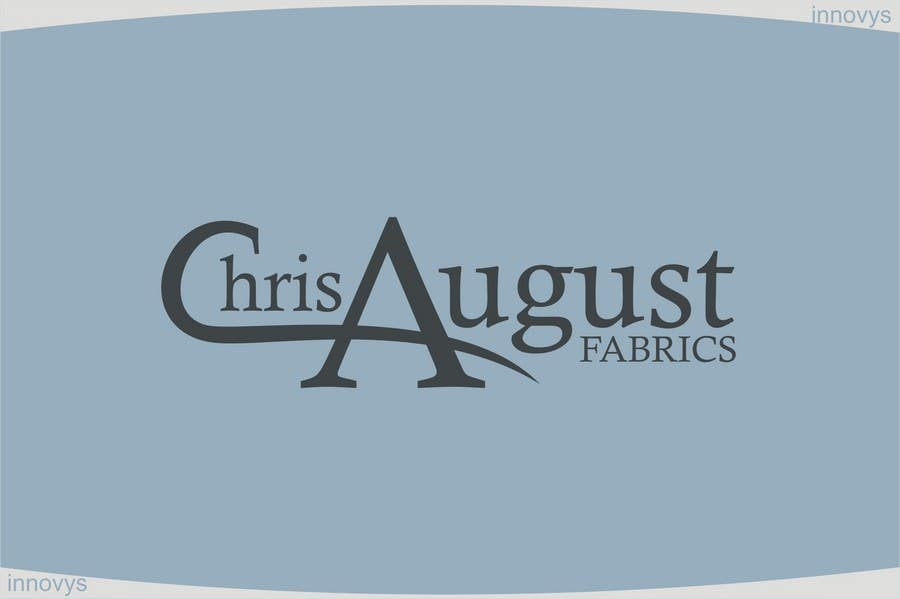 #273 for Logo Design for Chris August Fabrics by innovys