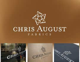 #195 for Logo Design for Chris August Fabrics af hoch2wo
