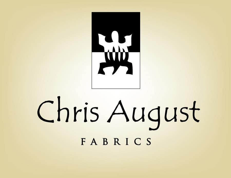 Penyertaan Peraduan #526 untuk Logo Design for Chris August Fabrics