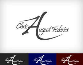 #119 for Logo Design for Chris August Fabrics af lsjaravinda