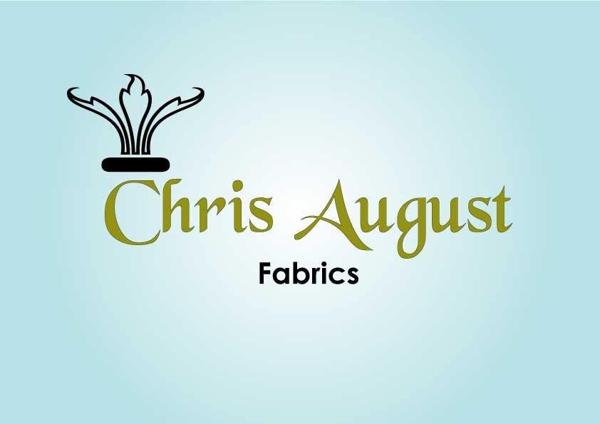 Penyertaan Peraduan #228 untuk Logo Design for Chris August Fabrics