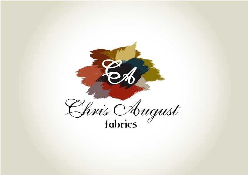 Proposition n°350 du concours Logo Design for Chris August Fabrics