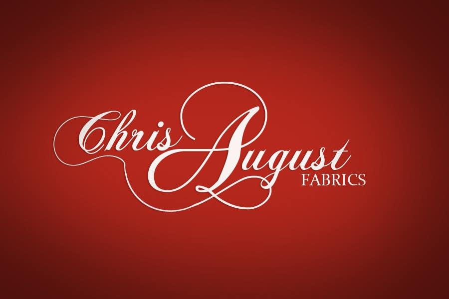 #169 for Logo Design for Chris August Fabrics by sararanderson