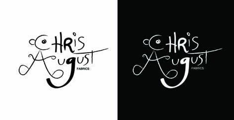 Penyertaan Peraduan #500 untuk Logo Design for Chris August Fabrics