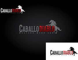 #6 para Design a Logo for Caballo Diablos por GeorgeOrf