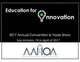 #85 para Create a Theme and Logo for the 2017 AAHOA Convention por durossi