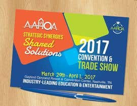 #71 for Create a Theme and Logo for the 2017 AAHOA Convention af KelvinOTIS