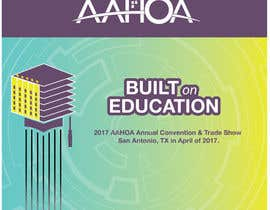 #80 para Create a Theme and Logo for the 2017 AAHOA Convention por lidesigns2013