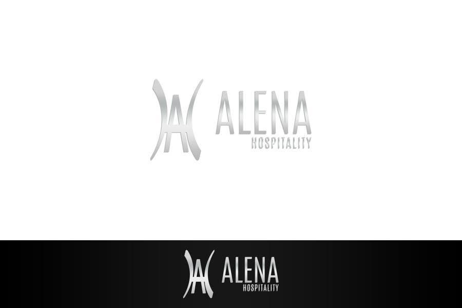 Bài tham dự cuộc thi #                                        10                                      cho                                         Design a Logo for Alena Hospitality.