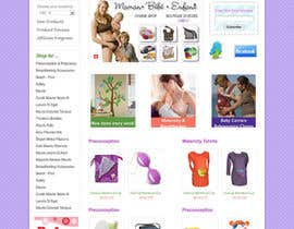 #22 pentru Custom Oscommerce Template - Jubilane Website Design de către dragnoir
