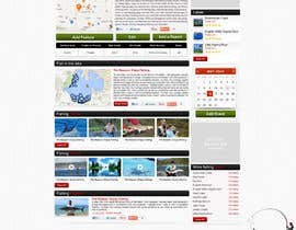 ProliSoft tarafından Design a Website Mockup for Sport Fish Junkies için no 20