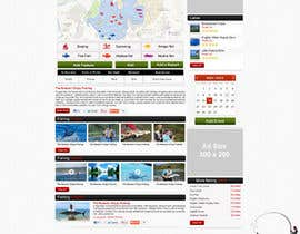 #23 para Design a Website Mockup for Sport Fish Junkies por ProliSoft