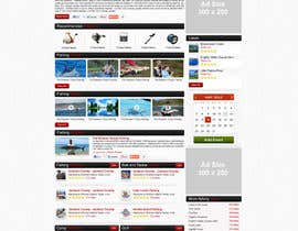 #24 for Design a Website Mockup for Sport Fish Junkies af ProliSoft