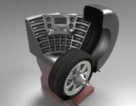 #12 for To design a cover for wheel balancer. by phthai2015