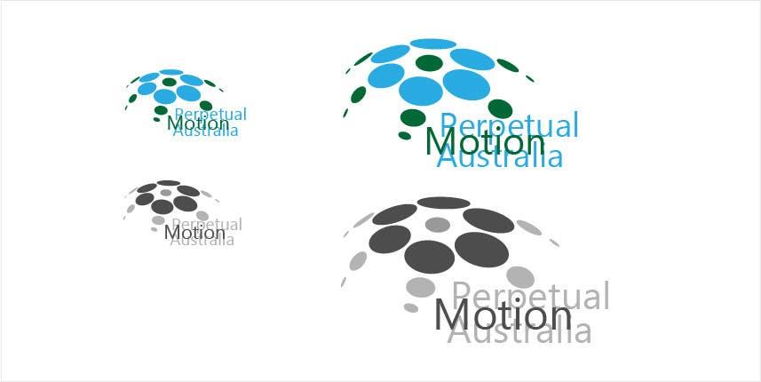 Bài tham dự cuộc thi #                                        26                                      cho                                         Design a Logo for Perpetual Motion Australia