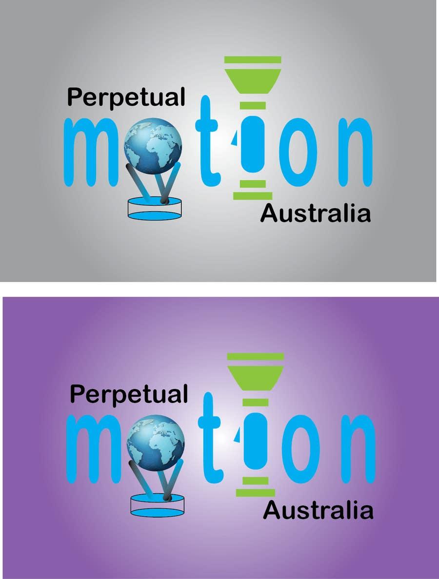 Penyertaan Peraduan #7 untuk Design a Logo for Perpetual Motion Australia