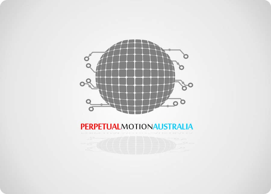 Bài tham dự cuộc thi #                                        23                                      cho                                         Design a Logo for Perpetual Motion Australia