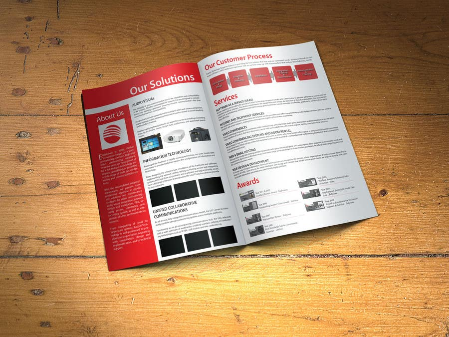 #7 for Company Profile Data Sheet Design Competition by xtreemsteel