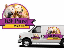 #96 for Graphic Design / Logo design for K9 Pure, a healthy alternative to store bought dog food. by ampitor