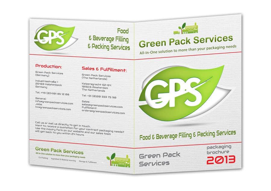 Inscrição nº                                         5                                      do Concurso para                                         Design a Brochure for Green Pack Services