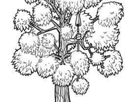 #41 para Draw an Ash Tree with character por adityanair90