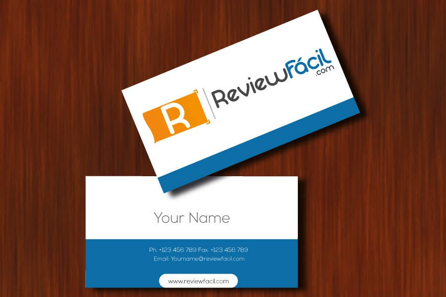 #27 for Design a Logo for ReviewFácil (in english means, ReviewEasy) by Naumaan