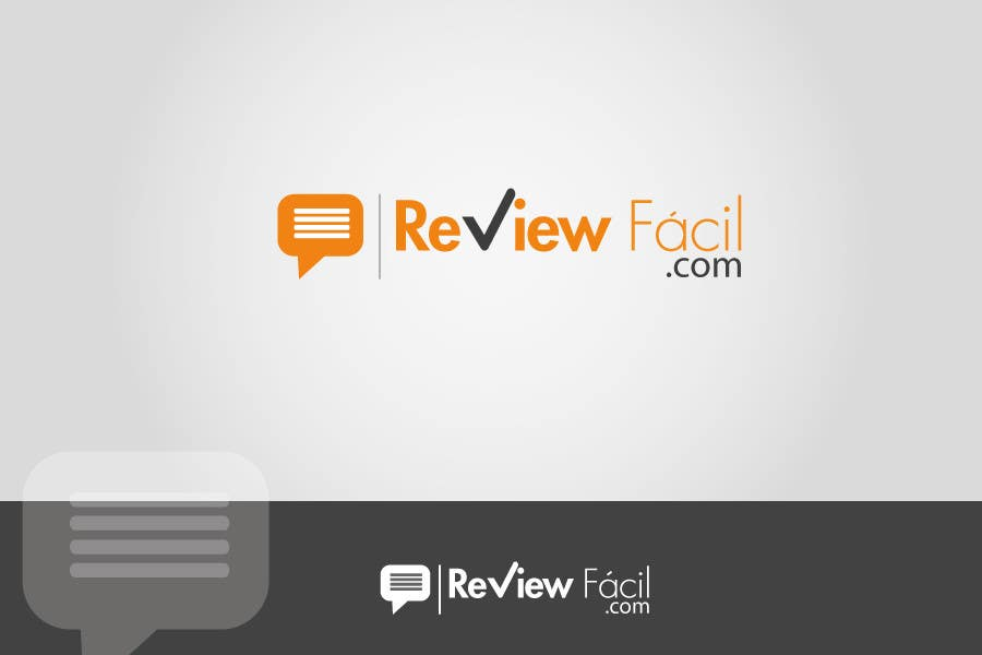 #30 for Design a Logo for ReviewFácil (in english means, ReviewEasy) by Naumaan
