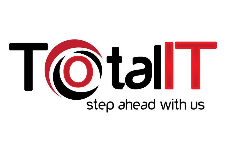 Penyertaan Peraduan #                                        691                                      untuk                                         Logo Design for Total IT Ltd