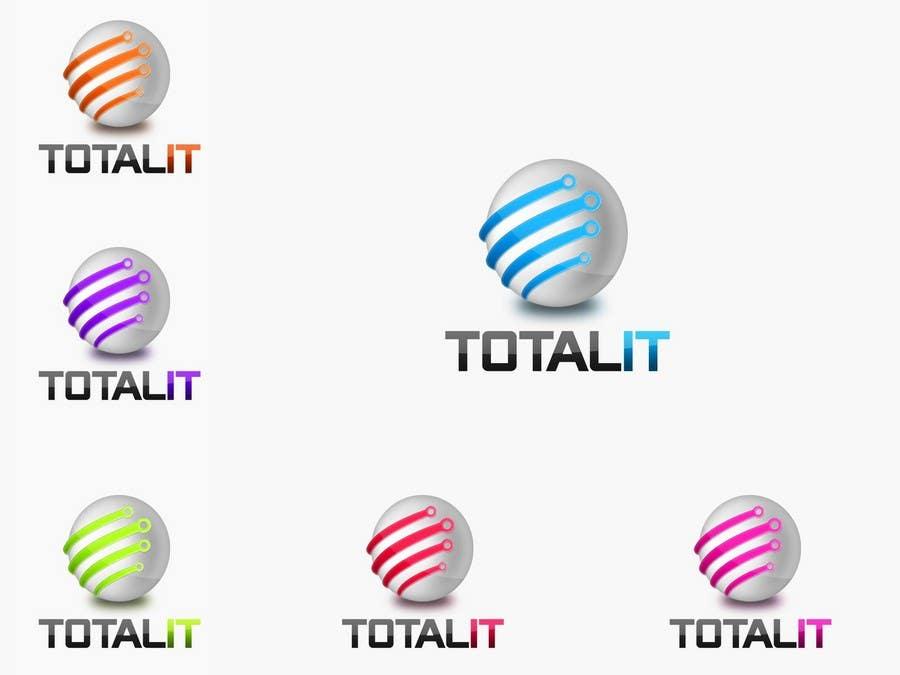 Konkurrenceindlæg #                                        568                                      for                                         Logo Design for Total IT Ltd