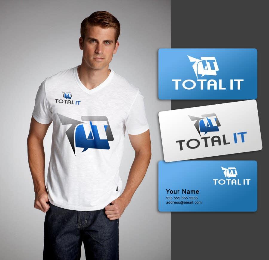 Konkurrenceindlæg #                                        814                                      for                                         Logo Design for Total IT Ltd