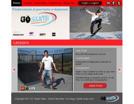 nº 12 pour Build a new Website for Goskate.com par lauranl