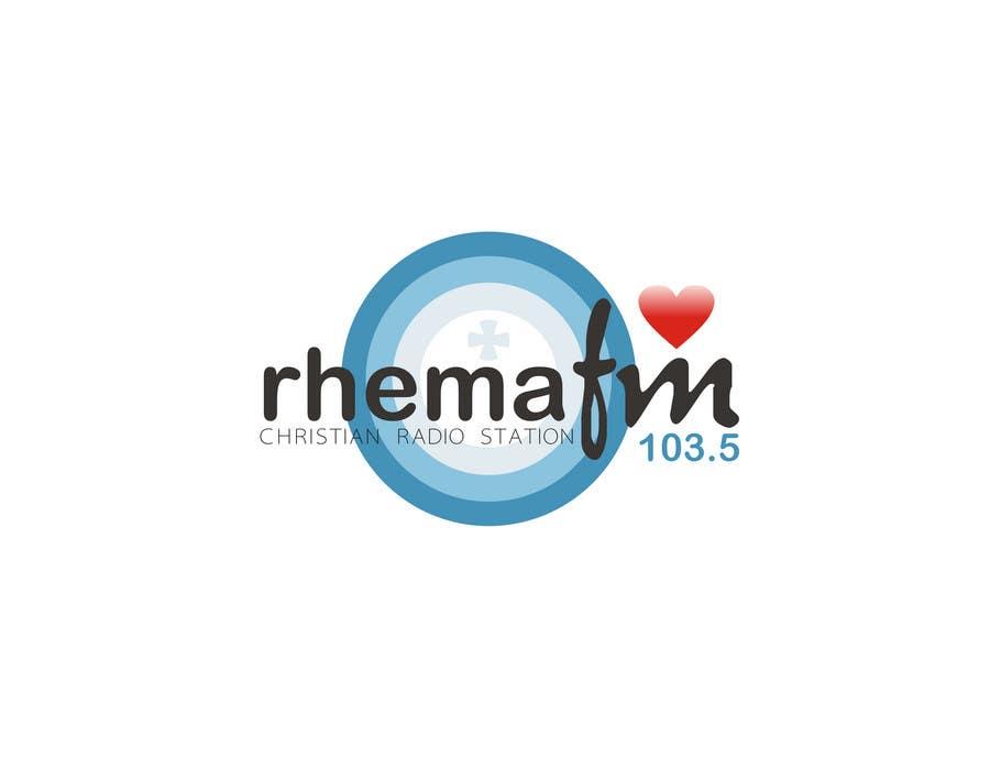 Konkurrenceindlæg #221 for Logo Design for Rhema FM 103.5