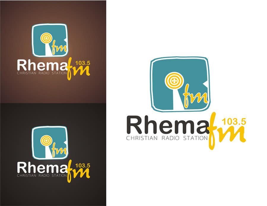 Konkurrenceindlæg #288 for Logo Design for Rhema FM 103.5