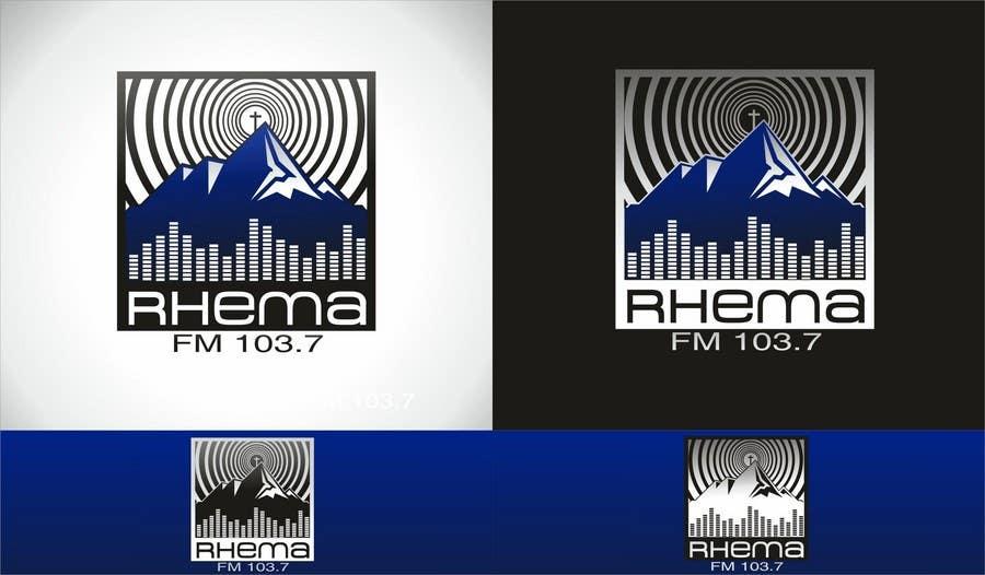 Inscrição nº 259 do Concurso para Logo Design for Rhema FM 103.5
